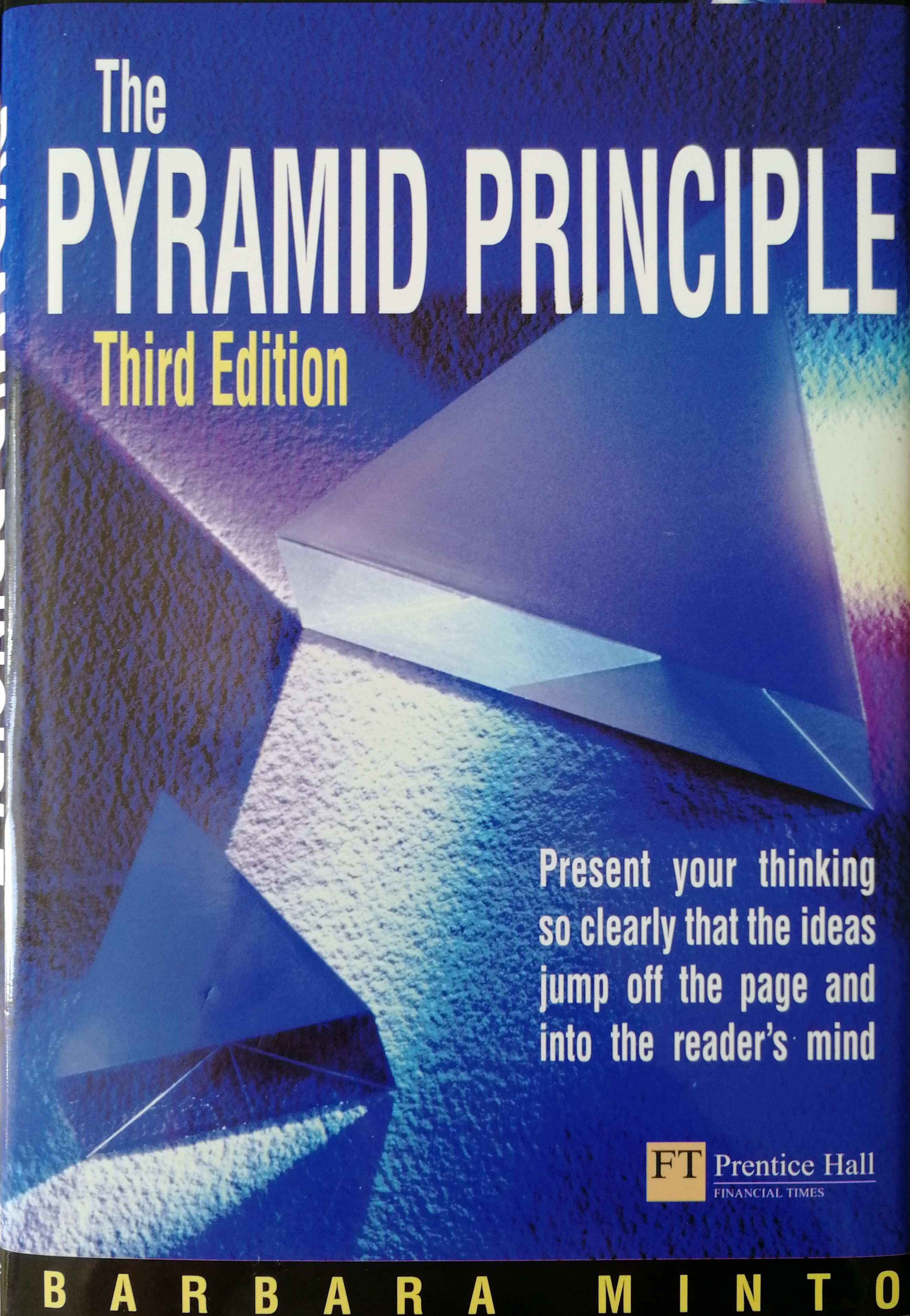 Cover of the Pyramid Principle