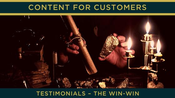 Testimonials – the win-win