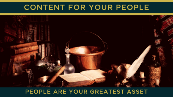 People are your greatest asset