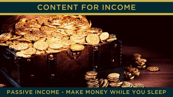Passive Income - make money while you sleep